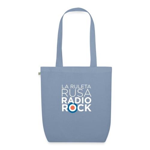 La Ruleta Rusa Radio Rock. Retrato blanco - Bolsa de tela ecológica