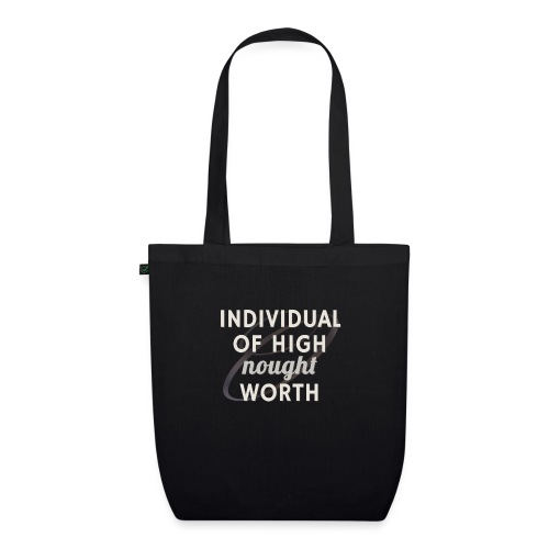 Individual Of High Nought Worth - EarthPositive Tote Bag