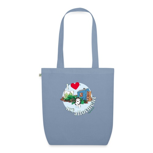 I 'love' my allotment - EarthPositive Tote Bag