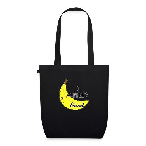 Banana divertente kawaii carina fumetto - Borsa ecologica in tessuto