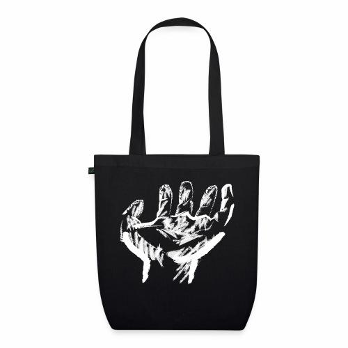 mano blanca - Bolsa de tela ecológica