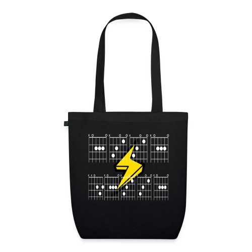 ACCA DACCA in chords for those about to rock - EarthPositive Tote Bag