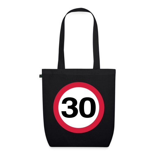 30mph Vector - EarthPositive Tote Bag