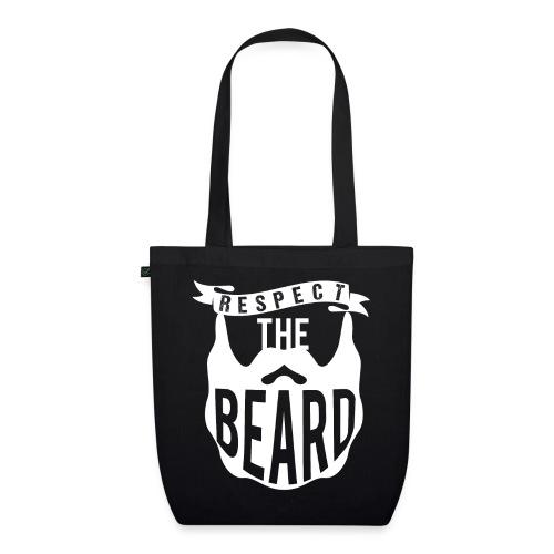 Respect The Beard - Bio-Stoffbeutel