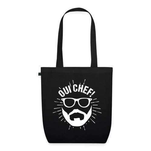 Oui Chef Bearded Chef Cuisine Restaurant - Bio-Stoffbeutel