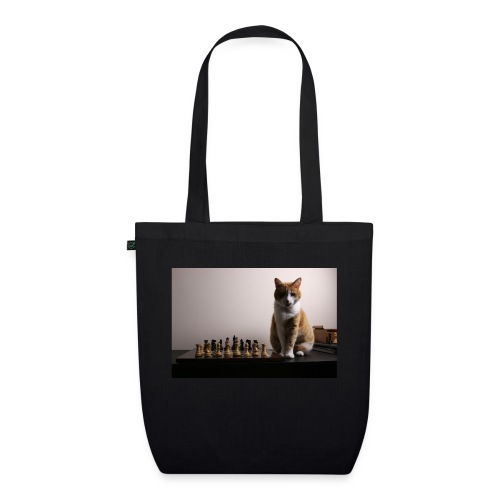 Charlie and his chess board - EarthPositive Tote Bag