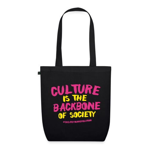 Culture Is The Backbone Of Society - EarthPositive Tote Bag