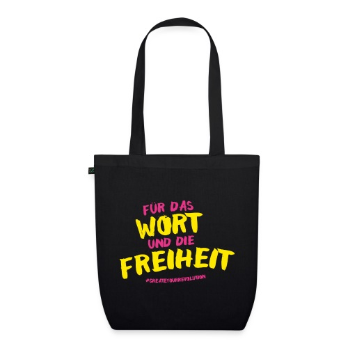For the word and freedom! - EarthPositive Tote Bag