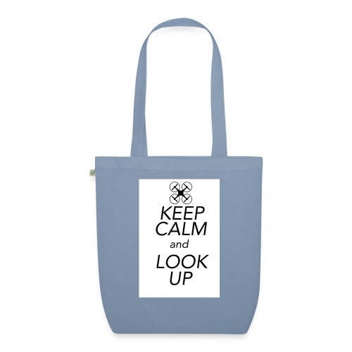 Keep Calm and Look Up - Bio stoffen tas