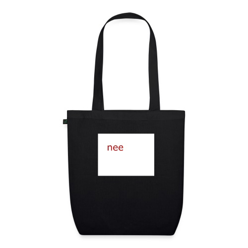 nee t-shirts - Bio stoffen tas