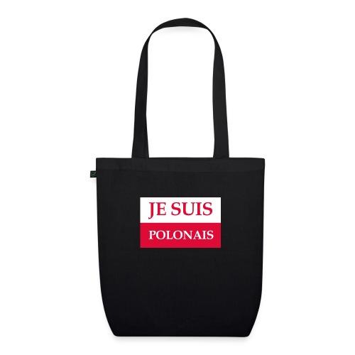 Je suis Polonais - Ekologiczna torba materiałowa