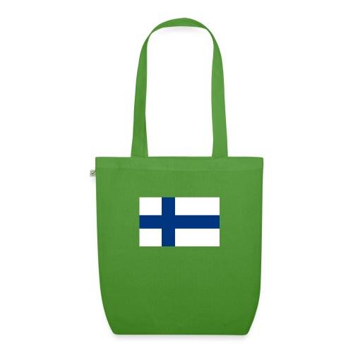 800pxflag of finlandsvg - Luomu-kangaskassi