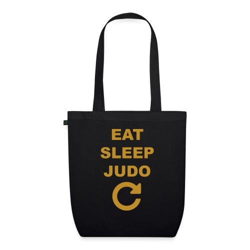 Eat sleep Judo repeat - Ekologiczna torba materiałowa