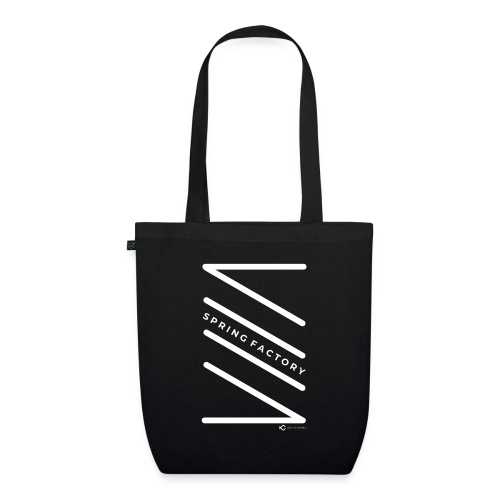 SPRING FACTORY WHITE - EarthPositive Tote Bag