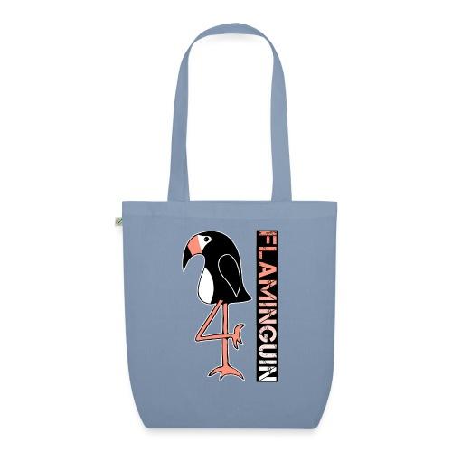 Pinguin Flamingo Flaminguin - Bio-Stoffbeutel