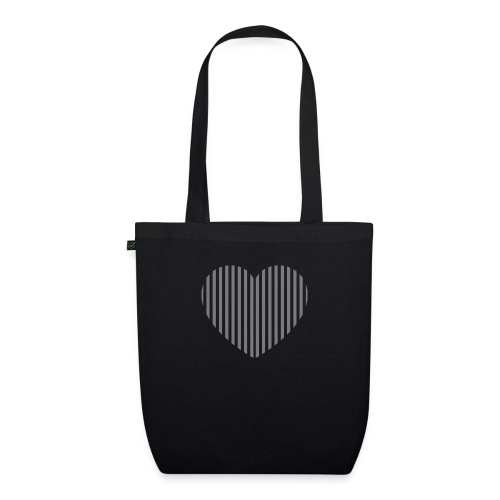 heart_striped.png - EarthPositive Tote Bag