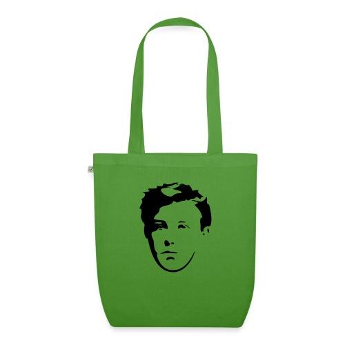 Arthur Rimbaud visage - Sac en tissu biologique