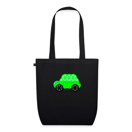 The Car Of Life - M01, Sacred Shapes, Green/R01. - EarthPositive Tote Bag