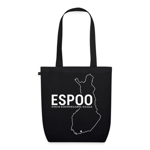 Kotiseutupaita - Espoo - Luomu-kangaskassi
