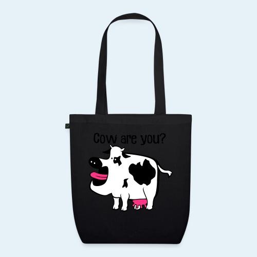 Cow are you? - Bolsa de tela ecológica
