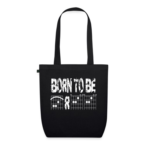Born to be free in guitar chords - EarthPositive Tote Bag