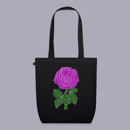 Landryn Design - Pink rose - EarthPositive Tote Bag