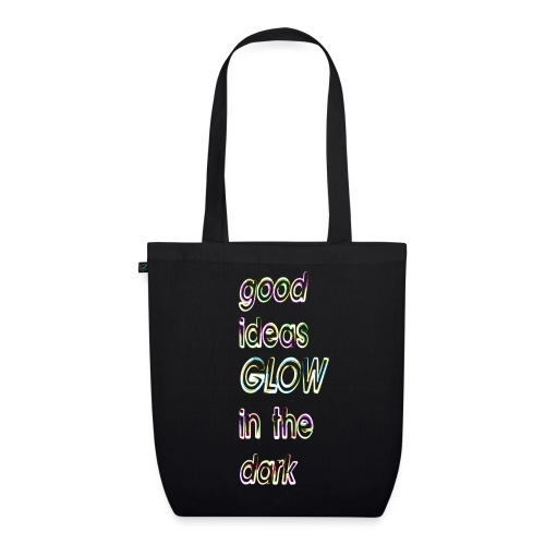 good ideas GLOW in the dark - Bolsa de tela ecológica