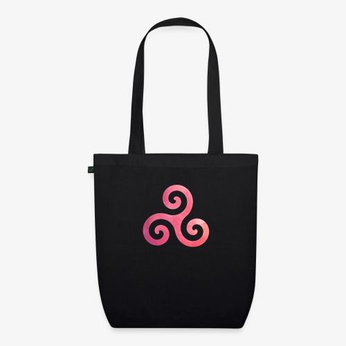 Trisquel Pink - Bolsa de tela ecológica