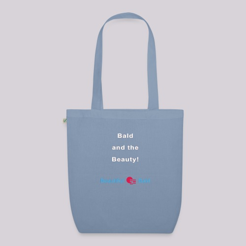 Bald and the Beauty w - Bio stoffen tas