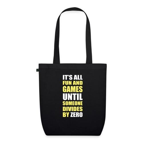 Divide by Zero - Ekologiczna torba materiałowa