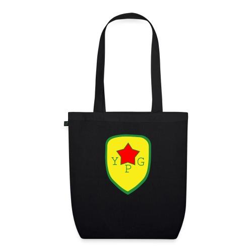 Mens Green YPG Support Tee - Luomu-kangaskassi