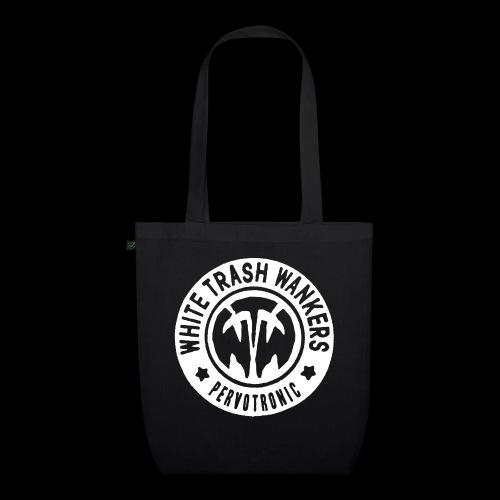White Trash Wankers Pervotronic-Logo - Bio-Stoffbeutel