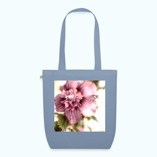 Pink flower watercolor minimalism - EarthPositive Tote Bag