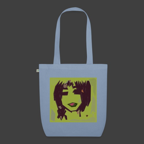 Green brown girl - EarthPositive Tote Bag