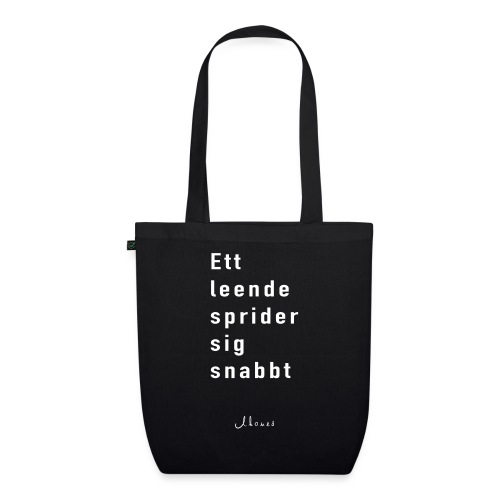 A smile spreads quickly - EarthPositive Tote Bag