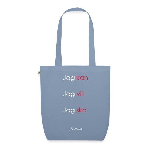 Jag kan jag vill jag ska - EarthPositive Tote Bag