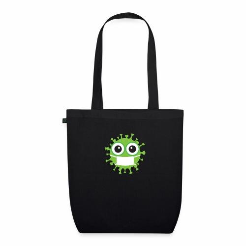 Uśmiechnij się pod maską - Ekologiczna torba materiałowa