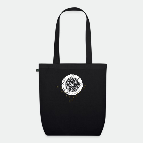 Snowflake Starglitter - EarthPositive Tote Bag