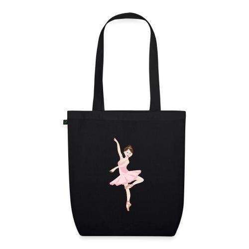 danseuse tutu rose - Sac en tissu biologique