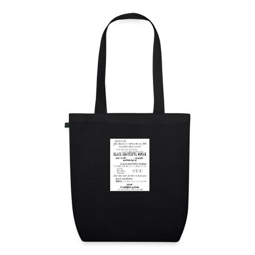 Beautiful Black Woman - EarthPositive Tote Bag