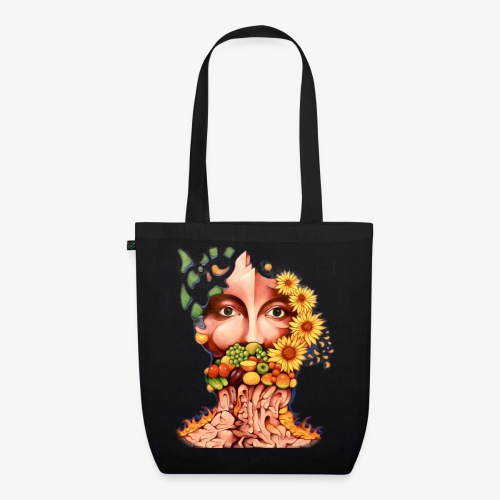 Fruit & Flowers - EarthPositive Tote Bag