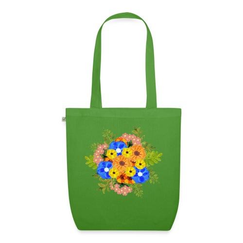 Blue Flower Arragement - EarthPositive Tote Bag