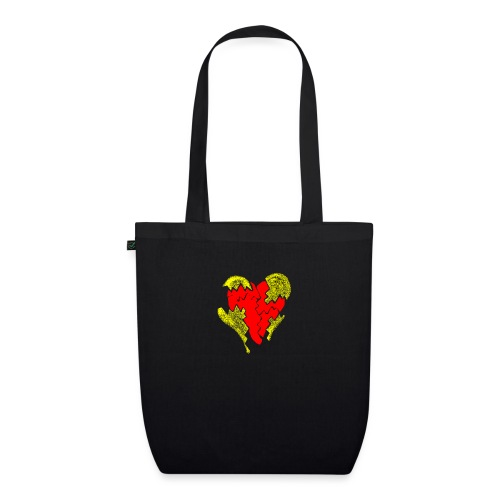 peeled heart (I saw) - EarthPositive Tote Bag