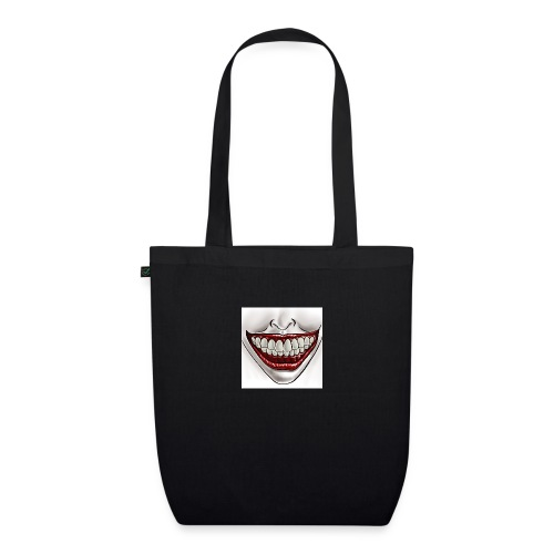 Smile Maske - Bio-Stoffbeutel