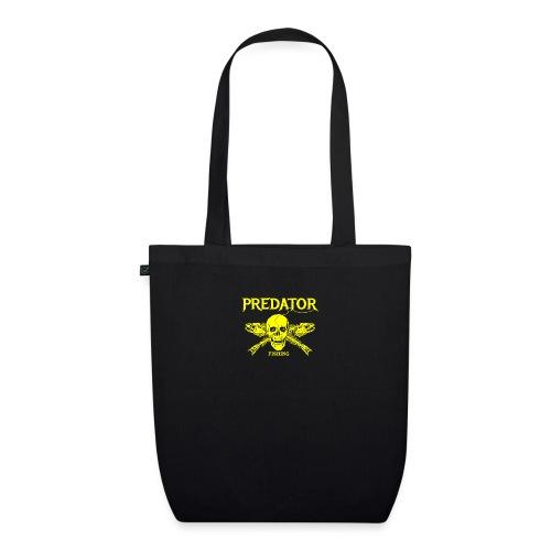 Predator fishing yellow - Bio-Stoffbeutel