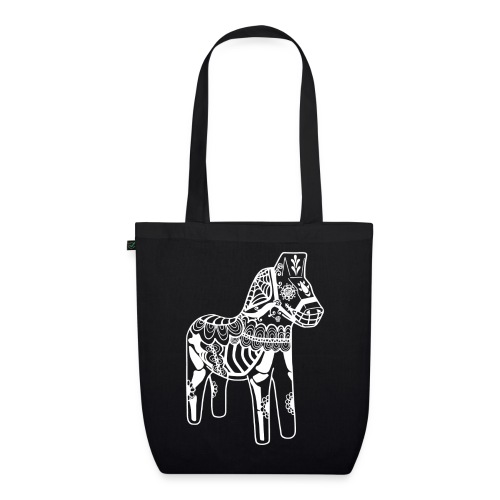 caballo muerto white - Ekologisk tygväska
