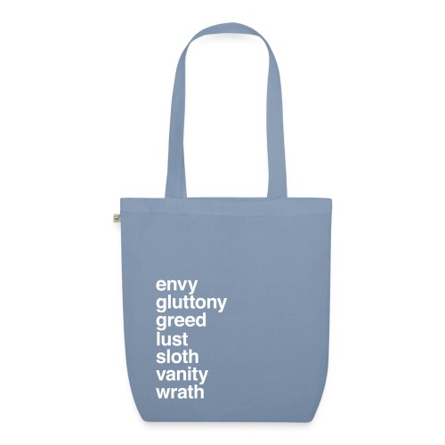 The Seven Sins - EarthPositive Tote Bag
