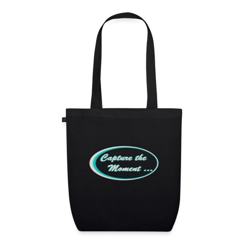 Logo capture the moment photography slogan - EarthPositive Tote Bag