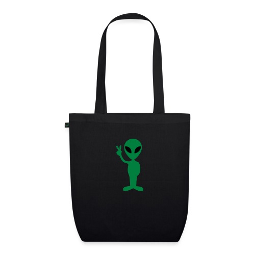 Peace alien - Bolsa de tela ecológica