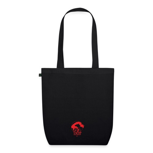 Sea of red logo - small red - EarthPositive Tote Bag